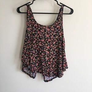 Summer tank top with Bow Back